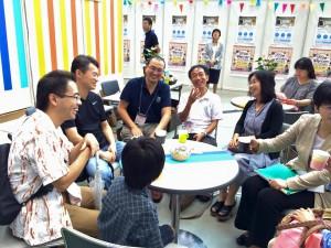 SAITAMA Smile Womenフェスタ2015【Work COM】ブース
